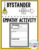 Bystander Effect Notes and Reflection Activity: A Lesson in Empathy