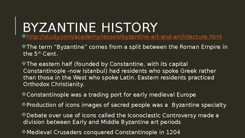 Byzantine Art lecture PPT (AP Art History)