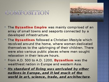 Byzantine Civilization - Legacy