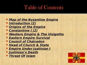 Byzantine Civilization - Overview - The Romans