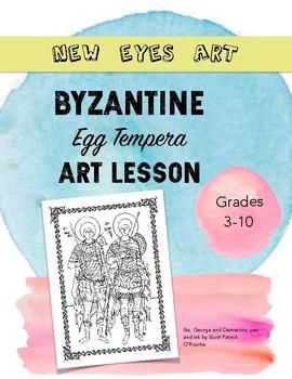 Byzantine Egg Tempera Art Lesson