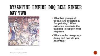 Byzantine Empire DBQ Bell Ringers