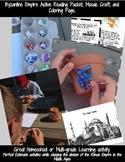 Byzantine Empire-Eastern Roman Empire Mosaics Craft, & Reading Activities & More