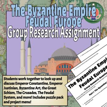 Byzantine Empire Inquiry/Research Project