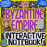 Byzantine Empire Interactive Notebook! Fun Flipchart for Byzantine Empire Unit!