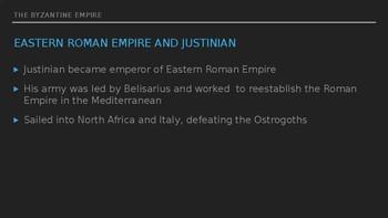 Byzantine Empire Lesson Three