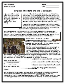 Byzantine Empire Nika Revolt