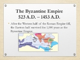 Byzantine Empire Powerpoint Justinian and Theodora Revised