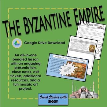 Byzantine Empire Presentation and Activity