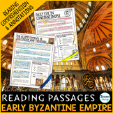 Byzantine Empire  Reading Passages - Questions - Annotations