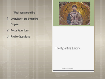 Byzantine Empire, Russia and Eastern Europe 330-1613