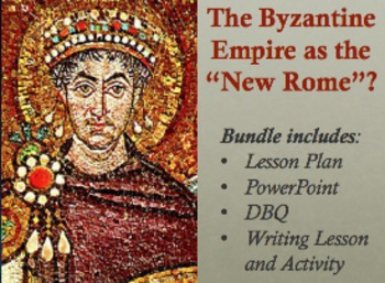 byzantine empire and justinian a new rome lesson plan powerpoint and dbq. Black Bedroom Furniture Sets. Home Design Ideas