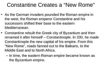 Byzantine Empire powerpoint