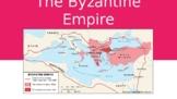 Byzantine Empire worksheet, slides, video mini lesson, Rus