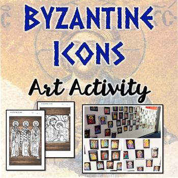 Byzantine Icon Art Activity