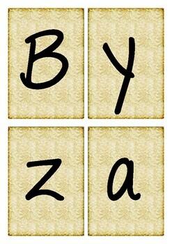 Byzantine Inquiry Cards