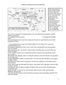 Byzantine and Ottoman Empire