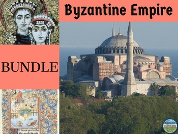 Byzantines and Slavs BUNDLE for Medieval History