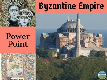 Byzantines and Slavs Medieval History Power Point