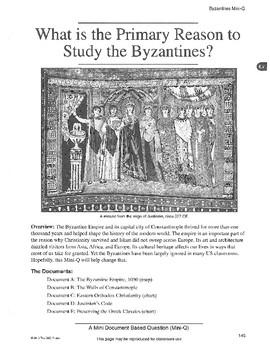 Byzantium: DBQ