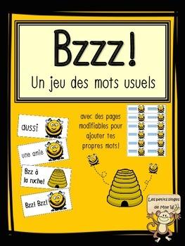 Bzzz! Jeu des mots usuels - Bzzz! Sight word game