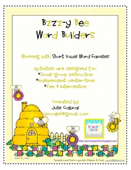 Bzzzy-Bee Word Builders