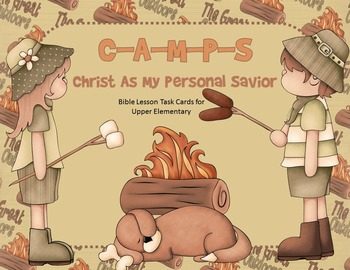 C-A-M-P-S: Christ as My Personal Savior - Bible Task Cards