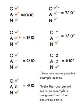 C-A-N Rubric