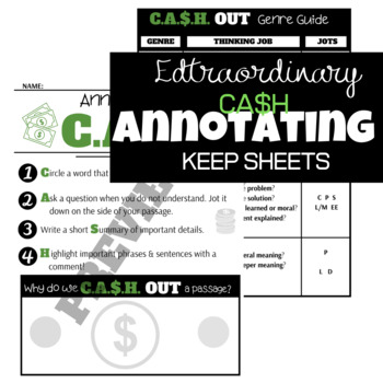 C.A.S.H. Annotating Keep Sheets