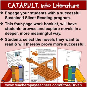 C.A.T.A.P.U.L.T. into Literature: Engage students selecting novels for SSR!