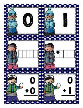 C-C-C-Cold Weather Number Concentration {Number Matching Math Center}