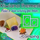 C = CAMPING {Kiwiana Themed 'Make & Take' Alphabet Set}
