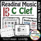 C Clef (Alto Clef and Tenor Clef) Presentation & Exit Tick
