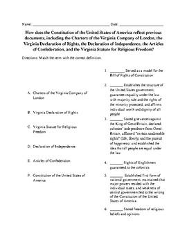 C.E. 2b Earlier Documents