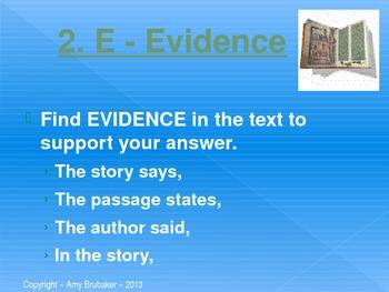 C-E-I-E-I-O PowerPoint  ~ Reading Extended Response