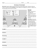 C.E.R. Index Fossil Worksheet (Editable)