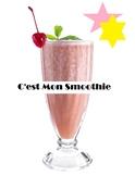 C'EST MON SMOOTHIE! La nourriture | French Food