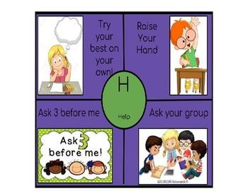 C.H.A.M.P.S. Wheel- Classroom Management Tool