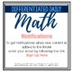 **FULL YEAR GROWING BUNDLE **: Differentiated Daily Math For Ontario Gr. 3-6