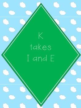 C K Spelling Rule