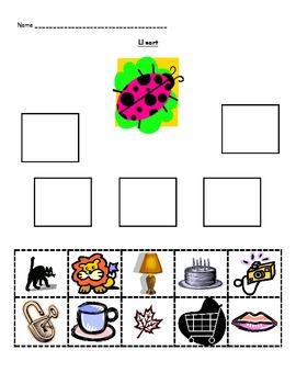 C, L, J, K Mini Word Study Unit