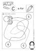 C - Letter of the week - NO PREP preschool & kindergarten letter work worksheets