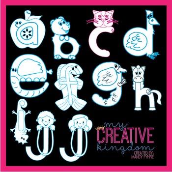 C Lower Case Alphabet Letter Craft (Journey's Aligned)