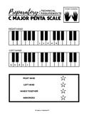 C Major Penta Scale - Preparatory Technical Requirements