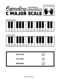 C Major Scale (One Octave) - Preparatory Technical Requirements