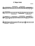 C Major Scale (exercise)