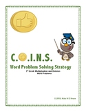 C.O.I.N.S. Word Problem Strategy: 3rd Grade Multiplication