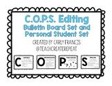 C.O.P.S. Editing Bulletin Board Set