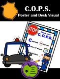 C.O.P.S. Poster and Desk Visuals