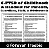 C-PTSD of Childhood: Complex PTSD of Childhood